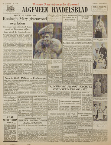 Watersnood documentatie 1953 - kranten 1953-03-25