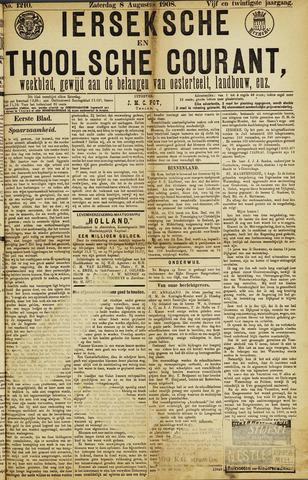 Ierseksche en Thoolsche Courant 1908-08-08
