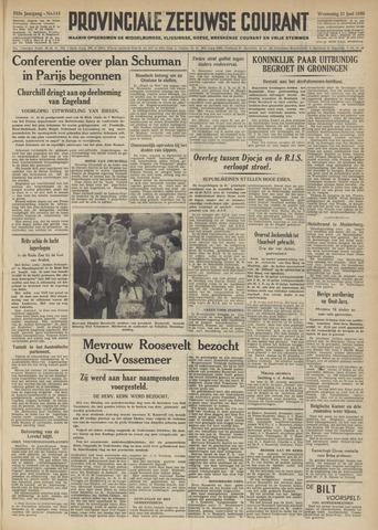 Provinciale Zeeuwse Courant 1950-06-21