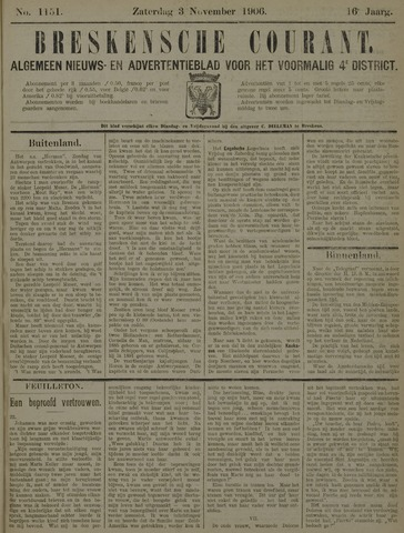 Breskensche Courant 1906-11-03