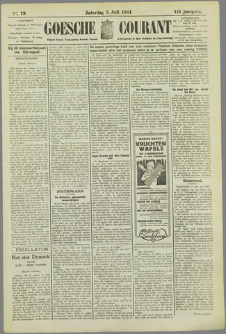 Goessche Courant 1924-07-05