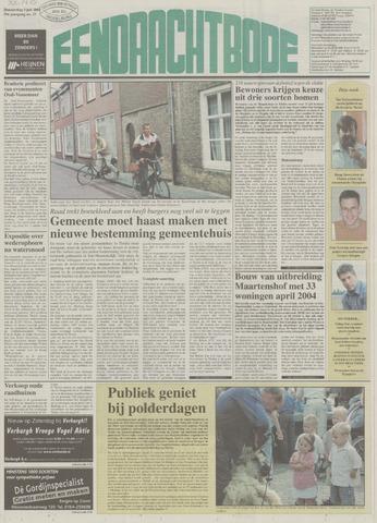 Eendrachtbode (1945-heden)/Mededeelingenblad voor het eiland Tholen (1944/45) 2003-07-03