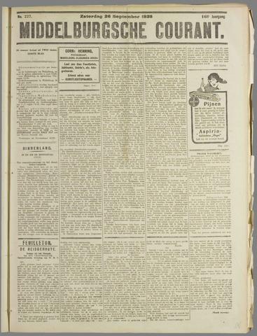 Middelburgsche Courant 1925-09-26