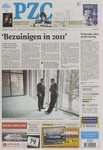 Provinciale Zeeuwse Courant 2009-03-25