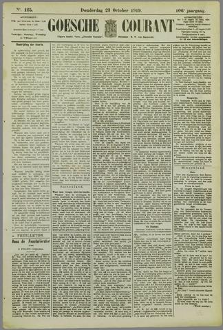 Goessche Courant 1919-10-23