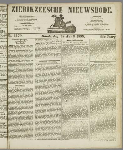 Zierikzeesche Nieuwsbode 1855-06-28