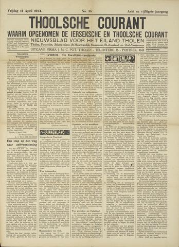 Ierseksche en Thoolsche Courant 1941