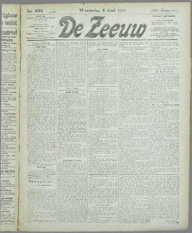 De Zeeuw. Christelijk-historisch nieuwsblad voor Zeeland 1919-06-04