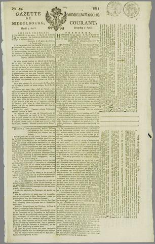 Middelburgsche Courant 1811-04-09