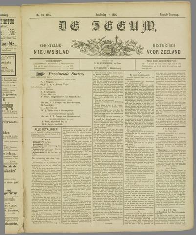 De Zeeuw. Christelijk-historisch nieuwsblad voor Zeeland 1895-05-09