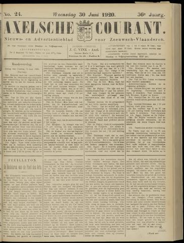 Axelsche Courant 1920-06-30