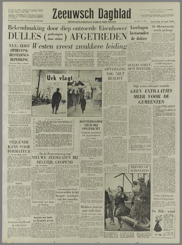 Zeeuwsch Dagblad 1959-04-16