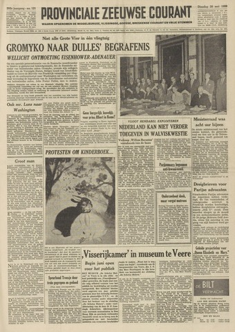 Provinciale Zeeuwse Courant 1959-05-26
