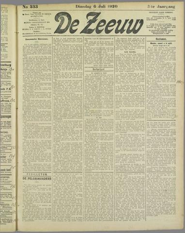 De Zeeuw. Christelijk-historisch nieuwsblad voor Zeeland 1920-07-06