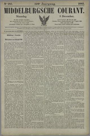 Middelburgsche Courant 1883-12-03