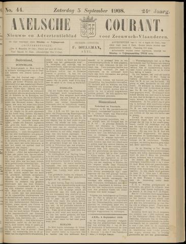 Axelsche Courant 1908-09-05