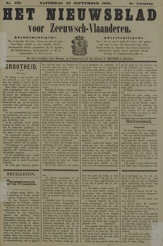 Nieuwsblad voor Zeeuwsch-Vlaanderen 1900-09-29