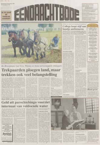 Eendrachtbode (1945-heden)/Mededeelingenblad voor het eiland Tholen (1944/45) 1999-09-30