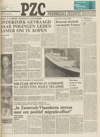 Provinciale Zeeuwse Courant 1974-09-13