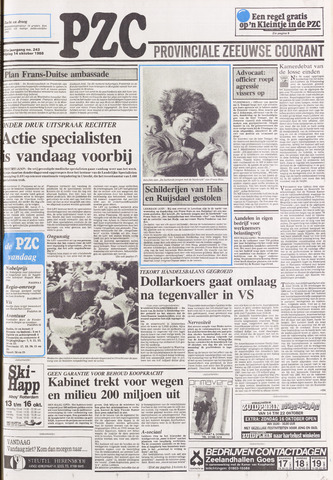Provinciale Zeeuwse Courant 1988-10-14