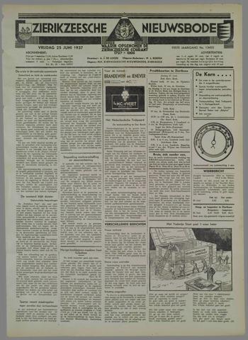 Zierikzeesche Nieuwsbode 1937-06-25