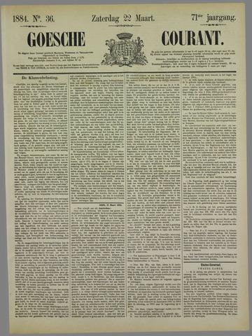 Goessche Courant 1884-03-22