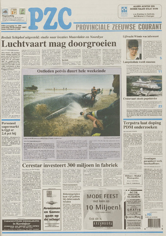 Provinciale Zeeuwse Courant 1997-11-29