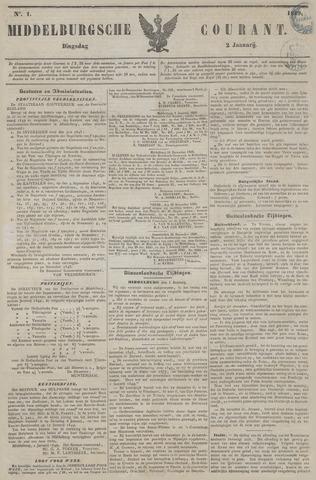 Middelburgsche Courant 1849
