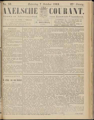 Axelsche Courant 1911-10-07