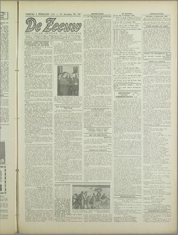 De Zeeuw. Christelijk-historisch nieuwsblad voor Zeeland 1943-02-05