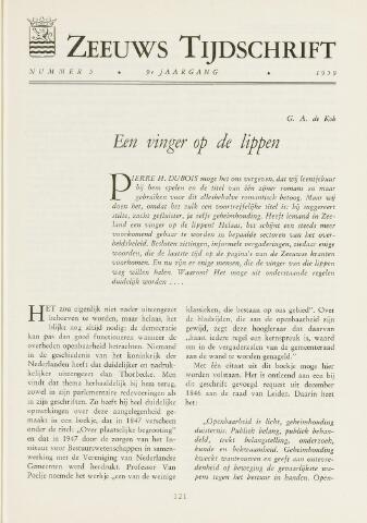 Zeeuws Tijdschrift 1959-09-01
