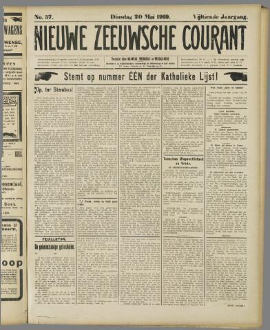 Nieuwe Zeeuwsche Courant 1919-05-20