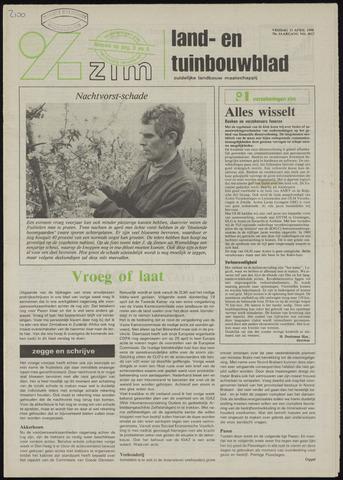 Zeeuwsch landbouwblad ... ZLM land- en tuinbouwblad 1990-04-13