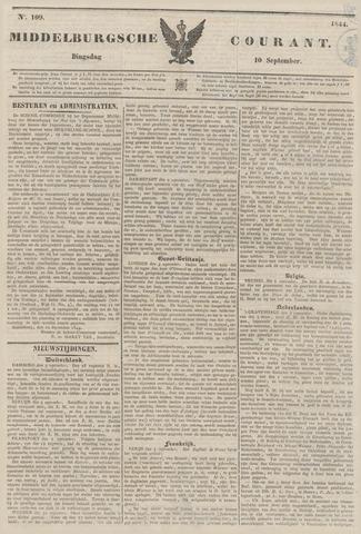 Middelburgsche Courant 1844-09-10