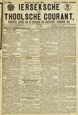Ierseksche en Thoolsche Courant 1906-04-28