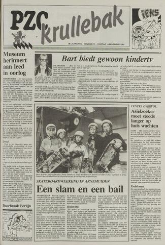 Provinciale Zeeuwse Courant katern Krullenbak (1981-1999) 1989-11-14