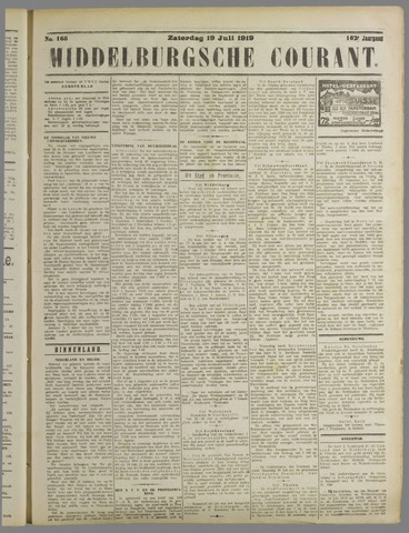 Middelburgsche Courant 1919-07-19