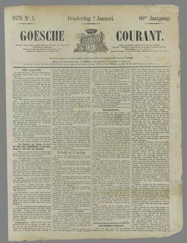 Goessche Courant 1879
