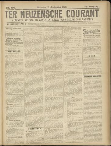Ter Neuzensche Courant. Algemeen Nieuws- en Advertentieblad voor Zeeuwsch-Vlaanderen / Neuzensche Courant ... (idem) / (Algemeen) nieuws en advertentieblad voor Zeeuwsch-Vlaanderen 1928-09-17