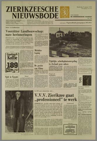 Zierikzeesche Nieuwsbode 1975-01-09