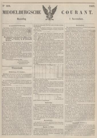 Middelburgsche Courant 1869-11-01