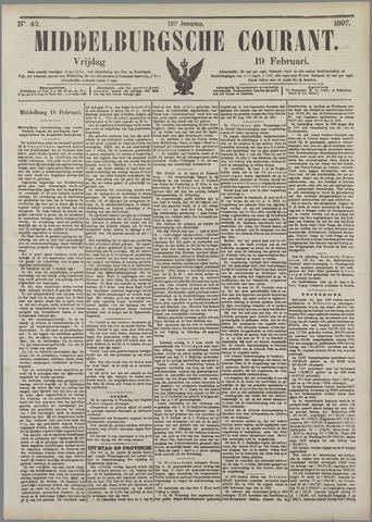 Middelburgsche Courant 1897-02-19