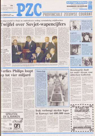 Provinciale Zeeuwse Courant 1990-11-20