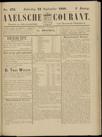 Axelsche Courant 1888-09-22