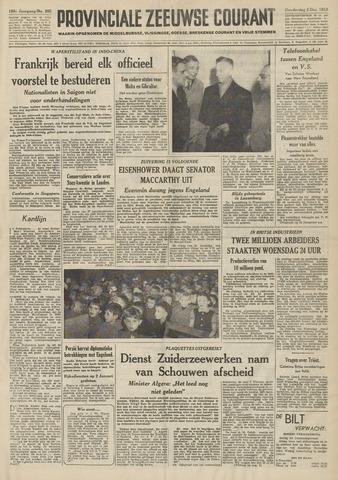 Provinciale Zeeuwse Courant 1953-12-03