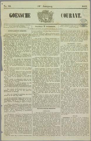 Goessche Courant 1857-11-02