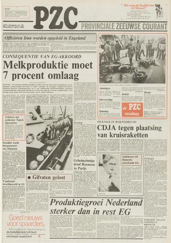 Provinciale Zeeuwse Courant 1984-04-02