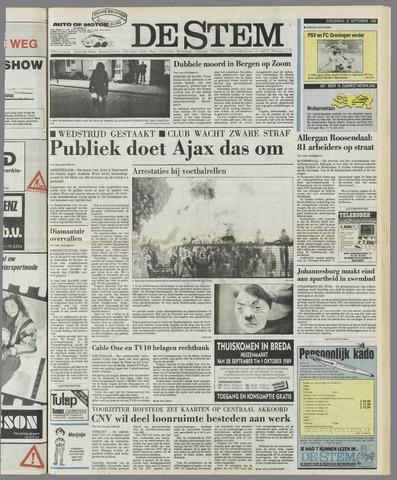 de Stem 1989-09-28