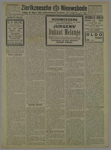 Zierikzeesche Nieuwsbode 1923-03-16