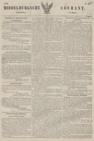 Middelburgsche Courant 1852-03-11